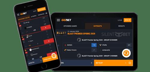 GGBET для телефона